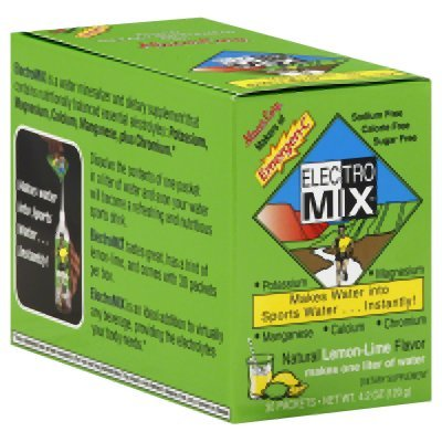 Alacer Elecentero Mix Natural Lemon Lime - 30 Packets