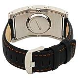 Phosphor Unisex DC02 Digital Calendar E-INK Curved Leather Band Watch