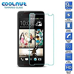 COOLNUT Tempered Glass Screen Protector Guard for HTC Butterfly S