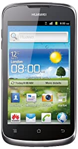 Vodafone Huawei Ascend G300 Pay as you go Smartphone (white/Silver)