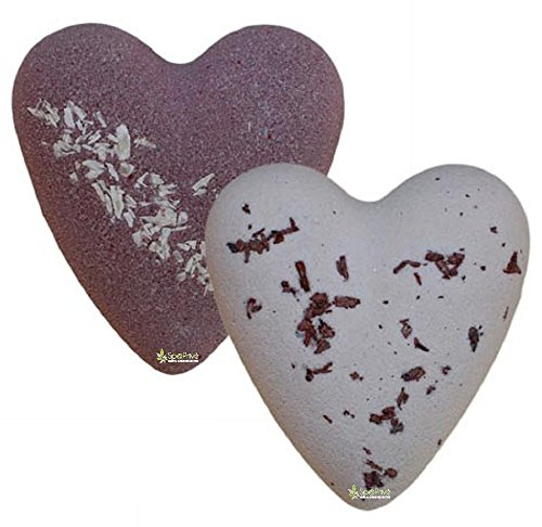 Bombe da bagno Cuori Cioccolato Packaging: 2x70g