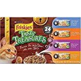 Friskies Tasty Treasures, 24 Cans, Large