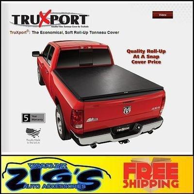 Truxedo 290101 Truxport Soft Roll Up Dual Latch Tonneau Cover