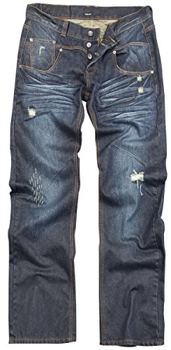 Forplay Stan Jeans blu scuro W38L36