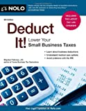 img - for Deduct It! Lower Your Small Business Taxes book / textbook / text book