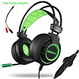 Acenx Surround Sound USB Wired Gaming Headset Stereo Headphones With Microphone Noise Cancelling Volume Control...