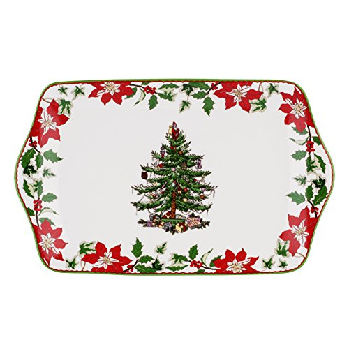 Spode Christmas Tree Annual Edition 2014 Dessert Tray Spode Christmas Tree Annual