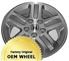 HONDA PILOT 16×6.5 Factory Oem Wheel Rim- SILVER – Remanufactured
