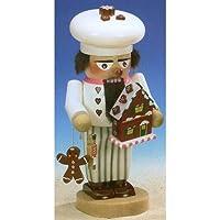 Signed Steinbach Gingerbread Baker German Christmas Nutcracker by PINNACLE PEAK