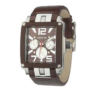 Cerruti Herren-Armbanduhr Multi Function 3 ATM CRB013I233G