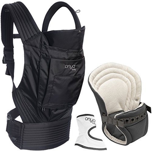 Onya Baby Outback Infant To Toddler Bundle - Jet Black