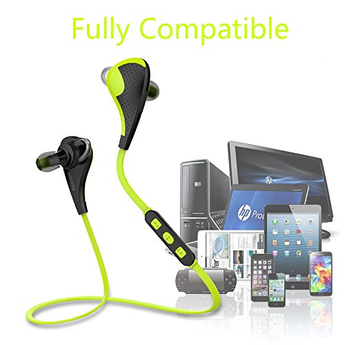 maxtronic mtg bluetooth headphones v4 1 earbuds voice control mini lightweight wireless stereo. Black Bedroom Furniture Sets. Home Design Ideas
