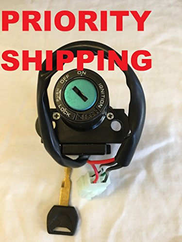 Ignition Switch Lock Key For Motorcycle Honda CBR 600RR CBR954 CBR929 CBR250 Models (Honda Cbr600rr Parts compare prices)