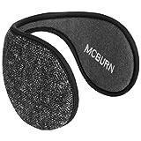Melange Knit Earband Ohrenwärmer Ohrenschützer Ohrwärmer Ohrschützer McBURN Ohrenschützer Ohrenwärmer (One Size - anthrazit)