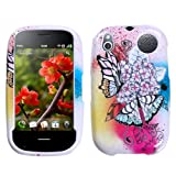 Design Hard Protector Skin Cover Cell Phone Case for Palm Pre 2 Verizon - Butterfly Paradise