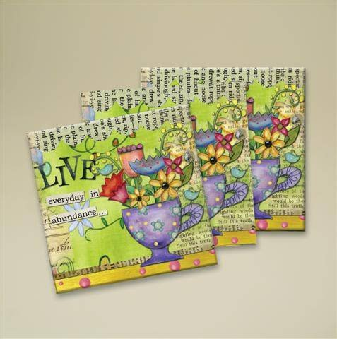 Color My World Luncheon Napkins