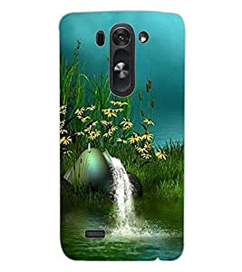 ColourCraft Beautiful Scenery Design Back Case Cover for LG G3 BEAT