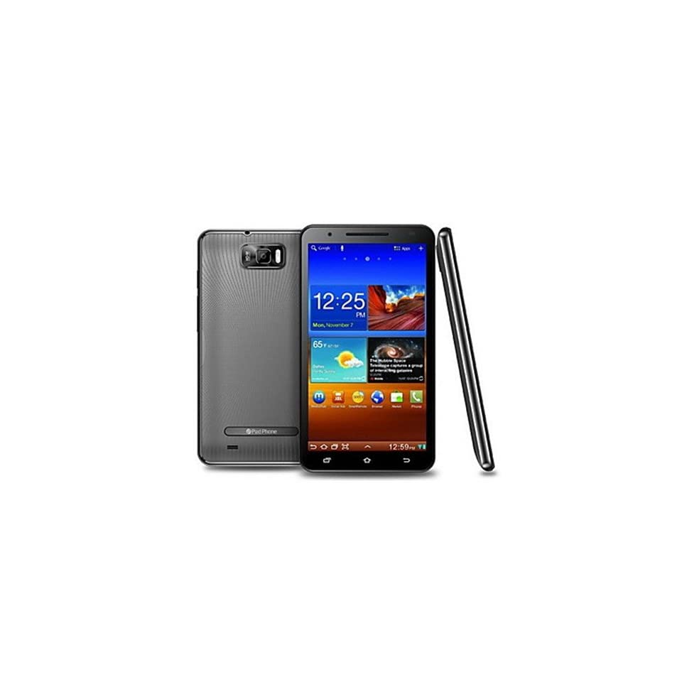 Triton Pad Unlocked Phones   Android 4.1 Dual Core Smartphone with 6.0 Inch Capacitive Touchscreen(wifi,dual Sim,gps,3g Black)
