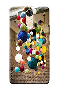 Omnam Coloful Wools Hanging On Roof Designer Printed Back Cover Case For Lenovo K5 Note