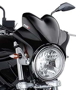 Saute vent Puig Wave noir pour Moto Guzzi V7/ Cafe Classic/ Classic/ Racer/ Special, V11 Sport