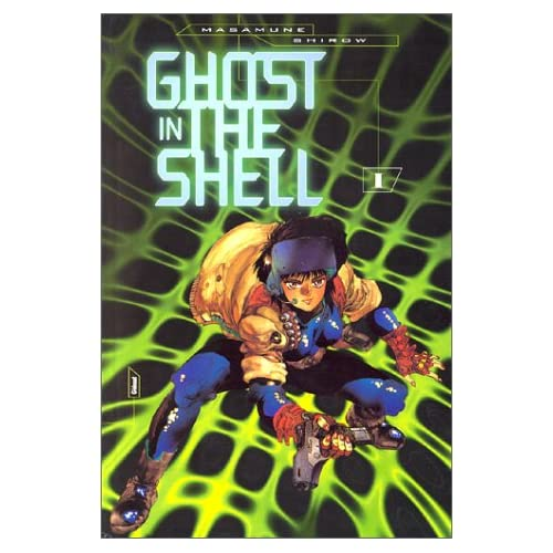 4 tomes fr ghost in the shell