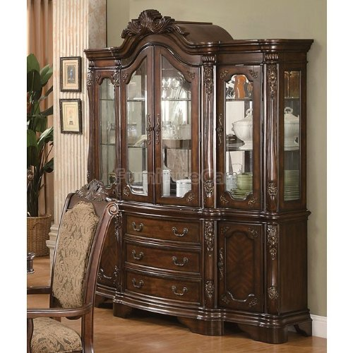 Cheap Andrea Dining China Hutch and Buffet by Coaster (B005ZZCQWK)