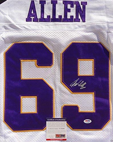 Jared Allen Vikings Memorabilia, Vikings Jared Allen Memorabilia