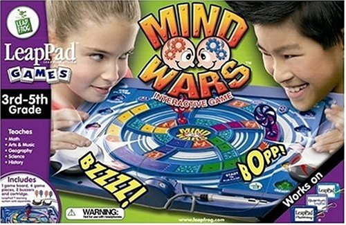 LeapFrog LeapPad Educational Game: Mind Wars Interactive - Buy LeapFrog LeapPad Educational Game: Mind Wars Interactive - Purchase LeapFrog LeapPad Educational Game: Mind Wars Interactive (Leap Frog Llc, Toys & Games,Categories,Electronics for Kids,Learning & Education,Cartridges & Books)