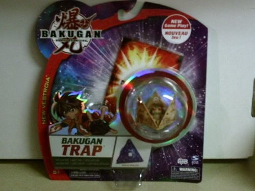 Bakugan New Vestroia Bakuneon Bakugan Trap- Subterra Tripod