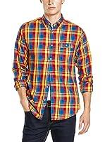 Springfield Camisa Hombre (Amarillo / Azul / Rojo)
