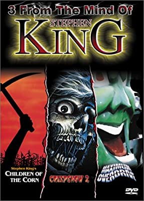 3 from the Mind of Stephen King (Children of the Corn / Creepshow 2 / Maximum Overdrive)