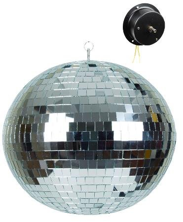 16 Inch Mirror Ball With Motor With Headphones