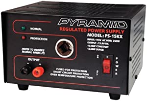 Ham Radio Outlet Review: Pyramid PS15KX 10A 13 8-Volt Power
