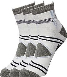 Ultimate Men,s Ankle Length Socks (Pack of 3)