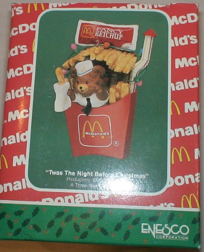 Vintage Mcdonalds 'Twas the Night Before Christmas' Ornament