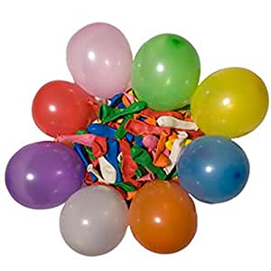 "Rhode Island Novelty 5"" Dart Balloons, Colors May Vary"