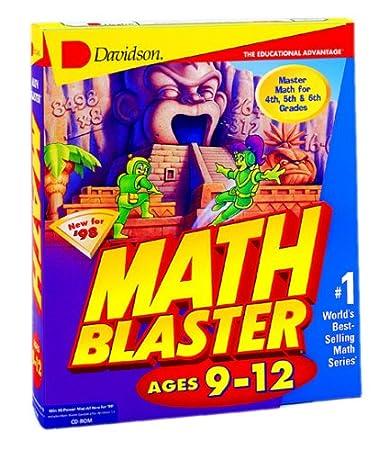 Math Blaster Ages 9-12