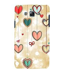 printtech Love Heart Design Back Case Cover for Samsung Galaxy J5 / Samsung Galaxy J5 J500F