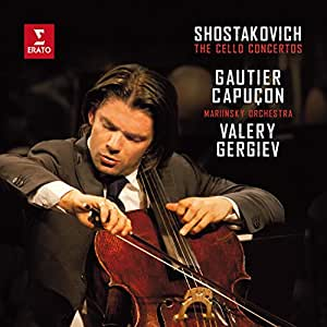 Gautier Capuçon - Shostakovich: Cello Concertos - Amazon.com Music