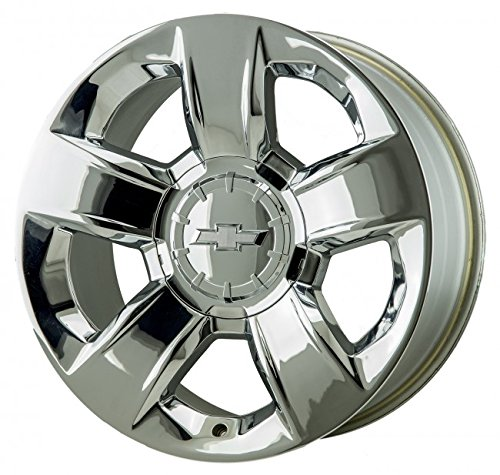 20 INCH 2014 2015 14 15 CHEVY SILVERADO TAHOE OEM CHROME ALLOY WHEEL RIM 5651 (Chevy Silverado Rims 20 compare prices)