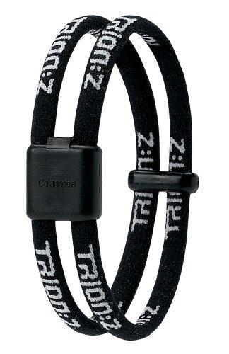 trion-z-duo-loop-magnetic-therapy-bracelet-black-medium-71-inch-18-cm