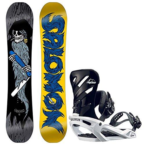 Herren Snowboard Set Salomon Sanchez 155 + Rhythm 2017