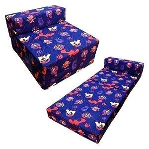 Shopisfy - Sofá cama Z para niños con diseño de personajes, Bakugan en BebeHogar.com