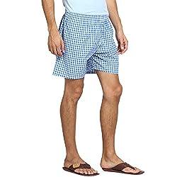 Y.U.V.I. Mens Boxer Shorts (Color-Blue)