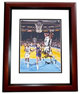 David Robinson Autographed Hand Signed San Antonio Spurs 8x10 Photo MAHOGANY CUSTOM... by Real Deal Memorabilia