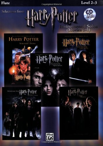 Harry Potter, Instrumental Solos (Movies 1-5): Flute (Book & CD) (Harry Potter Instrumental Solos (Movies 1-5): Level 2-3)
