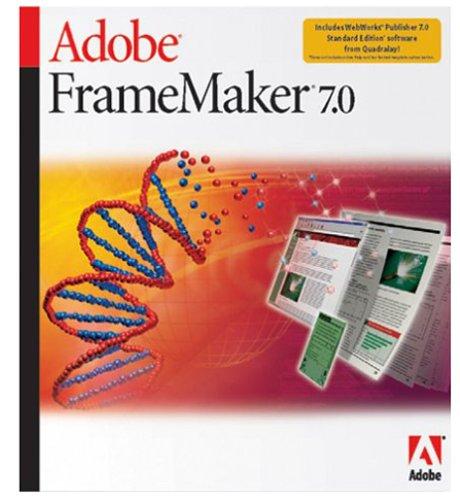 Framemaker 7.0 Mac Upg-cd