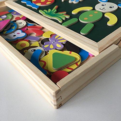 magnetisches spielzeug magnet doodle aus holz zeichnung maltafel f r kinder ab 3 jahren von. Black Bedroom Furniture Sets. Home Design Ideas