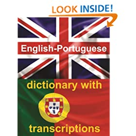 ENGLISH-PORTUGUESE Dictionary With Transcriptions