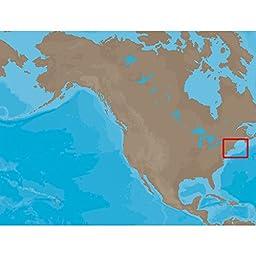 C-Map Na-C313 C-Card Format Muscongus Bay Cape May Bathy